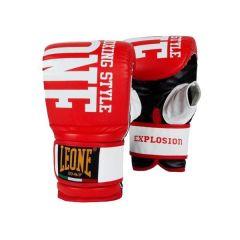 Снарядные перчатки Leone Explosion red - white