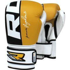 Боксерские перчатки RDX BGX F5 yellow
