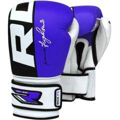 Боксерские перчатки RDX BGX F5 blue