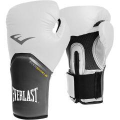 Боксерские перчатки Everlast Pro Style Elite white