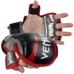 МMA перчатки Venum Elite Sparring black - red