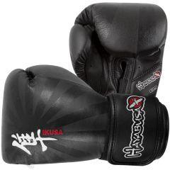 Боксерские перчатки Hayabusa Ikusa black