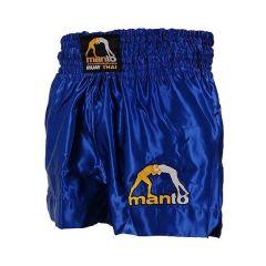"""Тайские шорты Manto """"MUAY THAI"""" blue"""