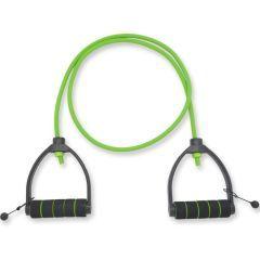 Зеленый регулируемый трубчатый эспандер (3,6 кг)