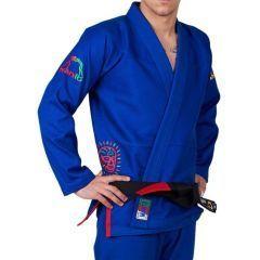 Кимоно (ГИ) для БЖЖ Manto Lucha blue