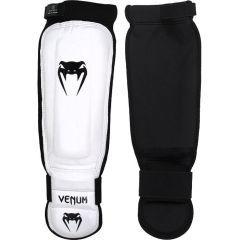 Защита голени и стопы Venum 360 MMA Shinguards white