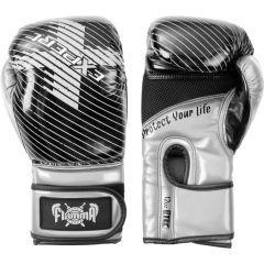 Боксерские перчатки Flamma Expert gray