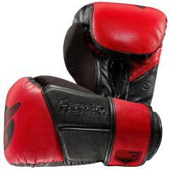Боксерские перчатки Hayabusa Tokushu Regenesis black - red 16oz