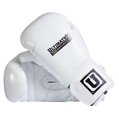 Боксерские перчатки Ultimatum Boxing Gen3Spar white