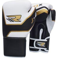 Детские боксерские перчатки RDX black - white
