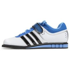 Штангетки Adidas Powerlift 2.0 white - blue