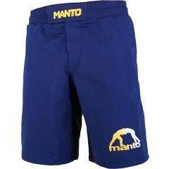 ММА шорты Manto Logo RipStop 3.0 blue