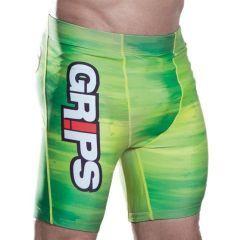 Компрессионные шорты Grips Acid Green