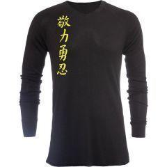 Лонгслив Jaco Kanji II black
