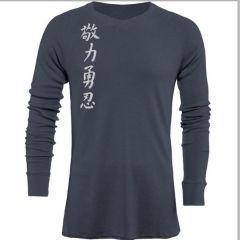 Лонгслив Jaco Kanji II gray