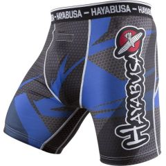 Компрессионные шорты Hayabusa Metaru 47 Silver black - blue