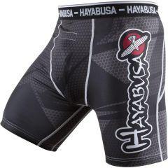 Компрессионные шорты Hayabusa Metaru 47 Silver black - gray