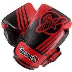 Боксерские перчатки Hayabusa Ikusa Recast black - red 16oz