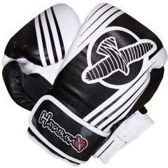 Боксерские перчатки Hayabusa Ikusa Recast black - white 16oz