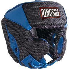 Боксерский шлем Ringside Air Max black - blue