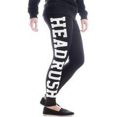 Женские спортивные штаны (леггинсы) Headrush black - white