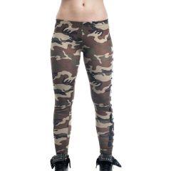 Женские спортивные штаны (леггинсы) Headrush camo