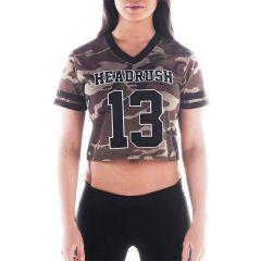 Женская футболка Headrush HR 13 Camo Team