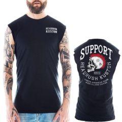 Майка Headrush Support The 13th Skull Kustom