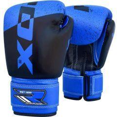 Детские боксерские перчатки RDX black - blue