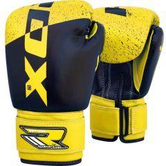 Детские боксерские перчатки RDX black - yellow