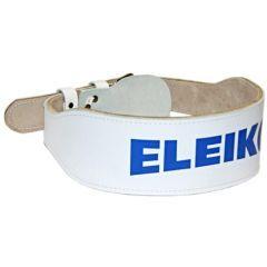Пояс тяжелоатлетический ELEIKO white