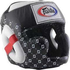 Боксерский шлем Fairtex Super Sparring black