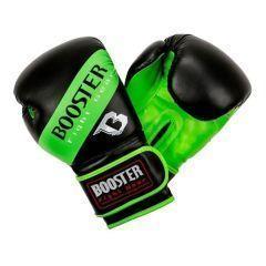 Боксерские перчатки Booster Sparring black - green
