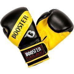 Боксерские перчатки Booster Sparring black - yellow