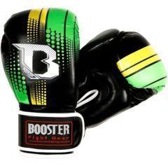 Боксерские перчатки Booster Sparring black - gold