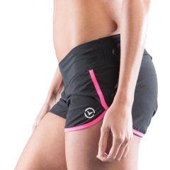 Женские тренировочные шорты Virus black - pink