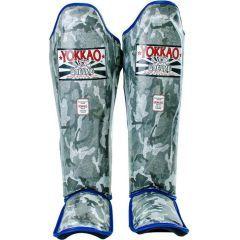 Защита голени и стопы Yokkao Army GREY