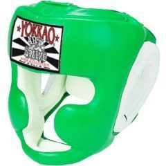 Боксерский шлем Yokkao Green Training Head Guard