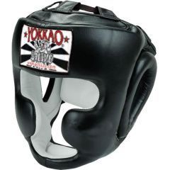 Боксерский шлем Yokkao Black Training Head Guard