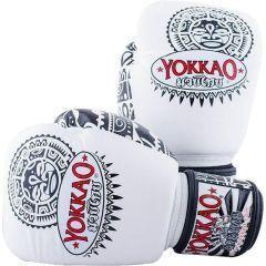 Боксерские перчатки Yokkao Maui white