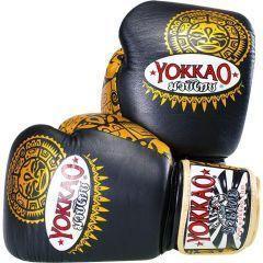 Боксерские перчатки Yokkao Maui black