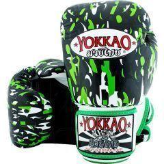 Боксерские перчатки Yokkao Apache black