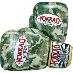 Боксерские перчатки Yokkao Green Army