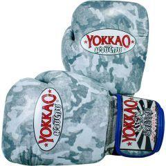 Боксерские перчатки Yokkao Gray Army