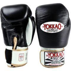 Боксерские перчатки Yokkao Boxing Gloves black
