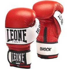 Боксерские перчатки Leone Shock red
