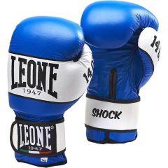 Боксерские перчатки Leone Shock blue