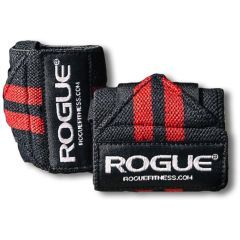 Кистевые бинты Rogue Wrist Wraps red - black