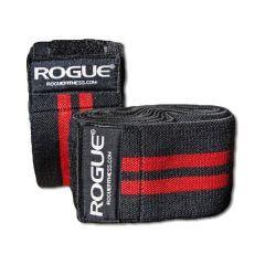 Коленные бинты Rogue Knee Wraps red - black