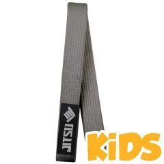 Детский пояс для кимоно БЖЖ Jitsu gray